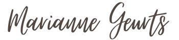 Logo Marianne Geurts.com